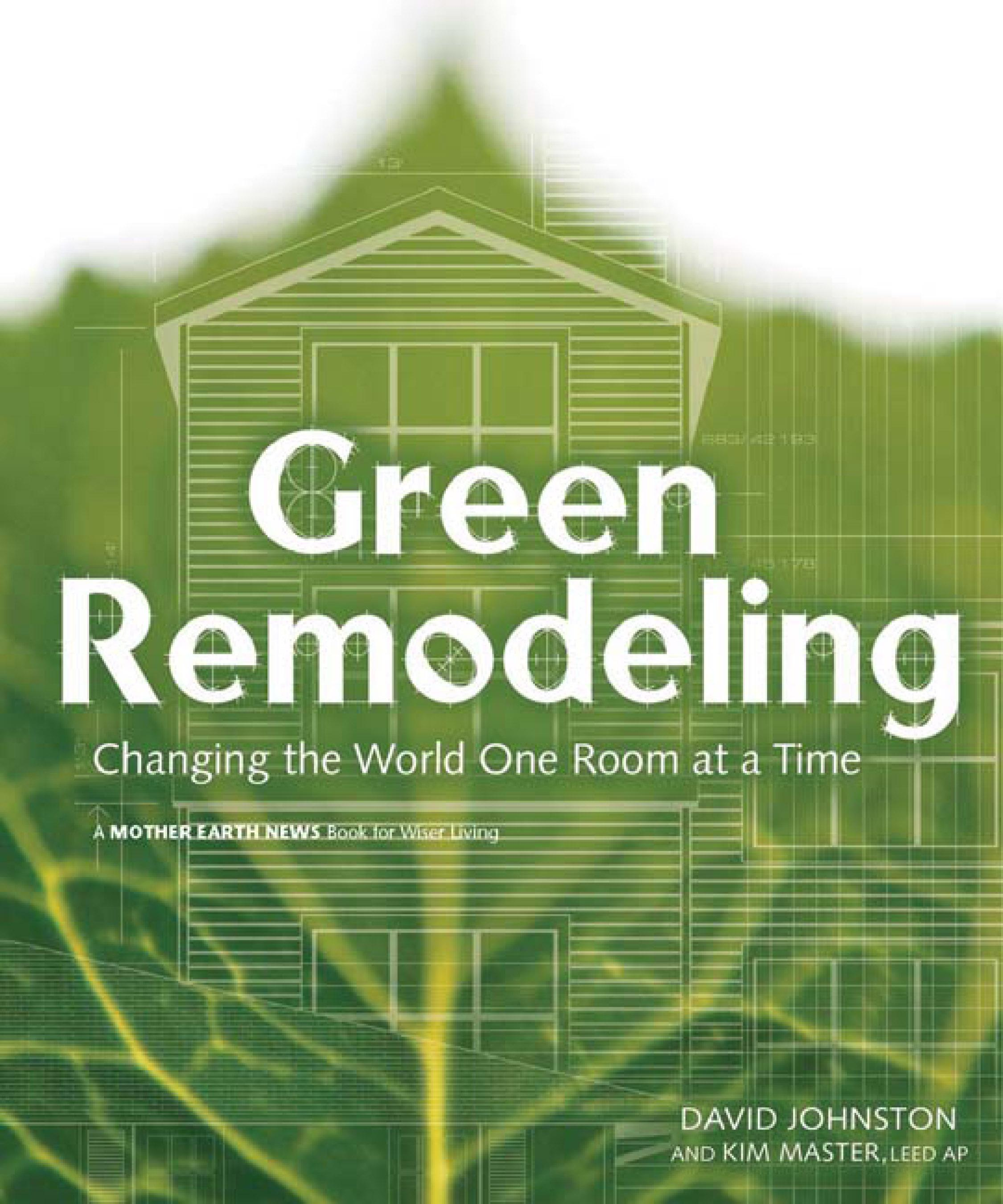 Green Remodeling: Changing the World One Room at a Time EB9781550923872