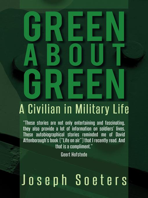 Green about Green: A Civilian in Military Life EB9781469795065