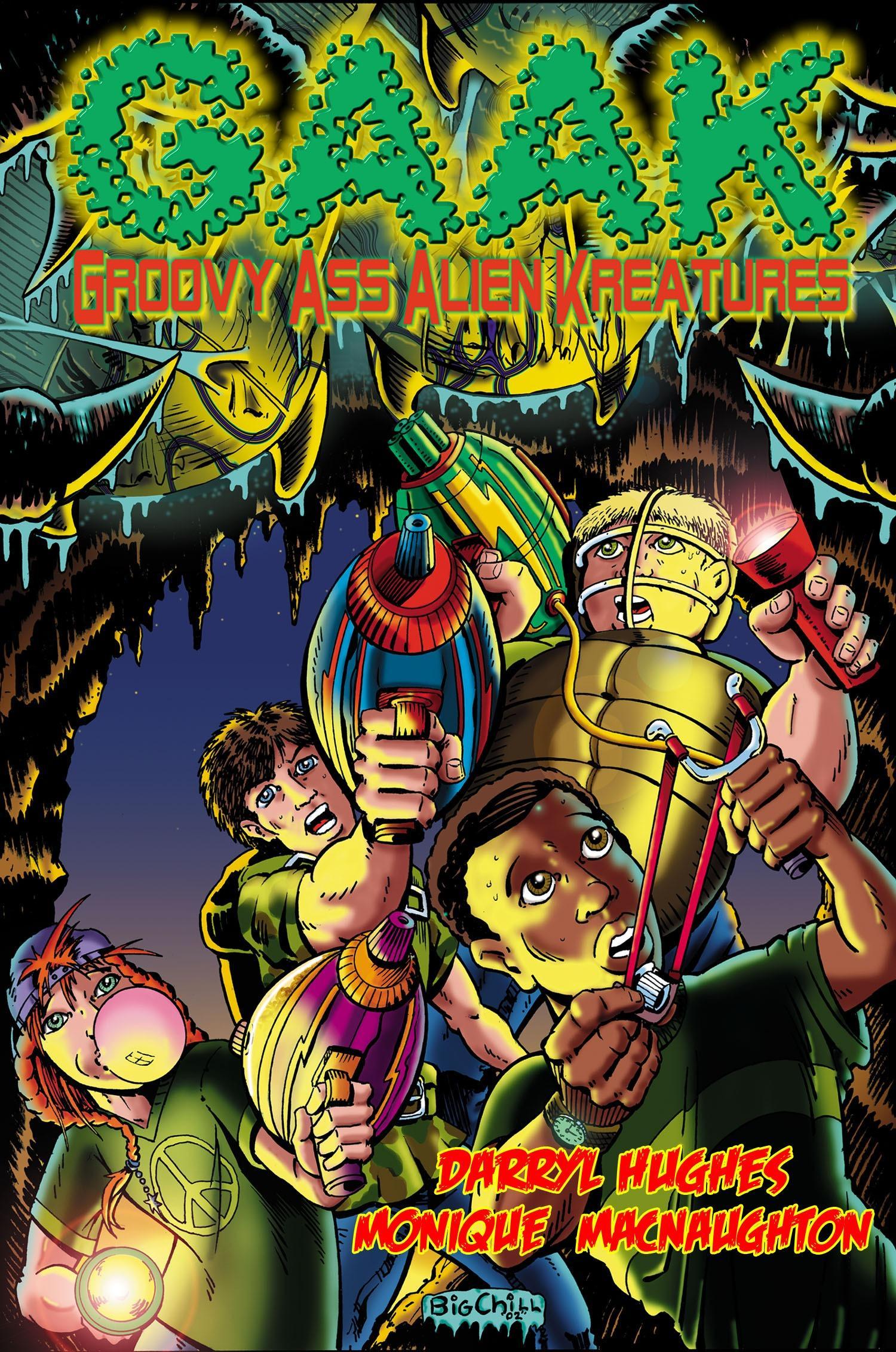 Groovy Ass Alien Kreatures EB9781609650018