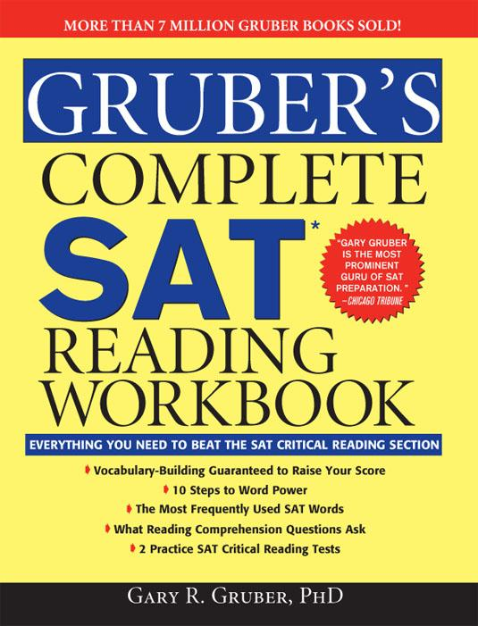 Gruber's Complete SAT Reading Workbook EB9781402223884