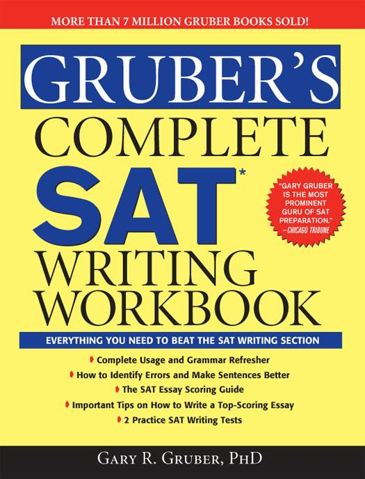 Gruber's Complete SAT Writing Workbook EB9781402223907