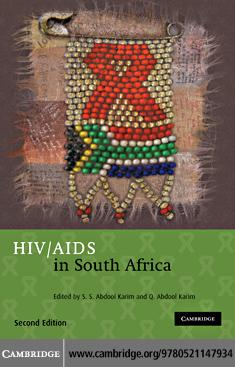 HIV/AIDS in South Africa EB9781139065368