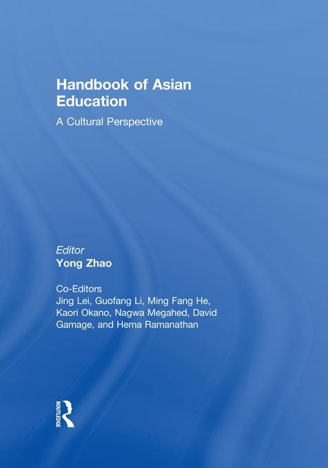 Handbook of Asian Education EB9781136721281
