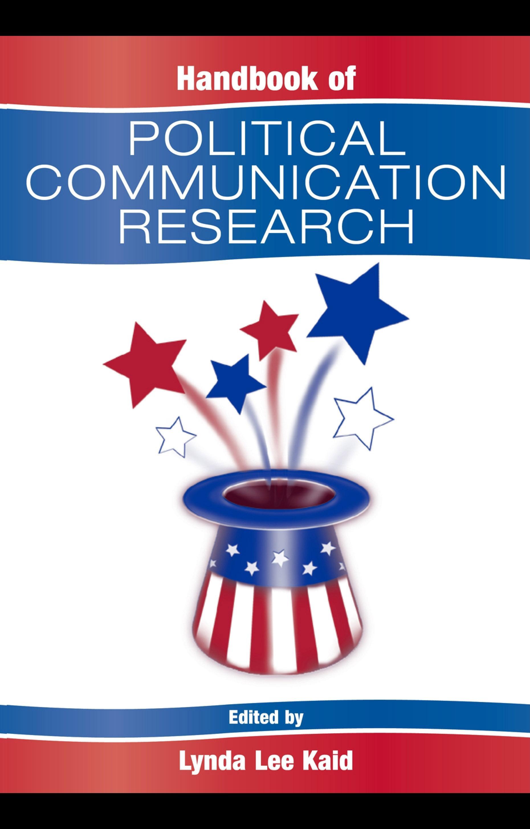 Handbook of Political Communication Research Lynda Lee Kaid