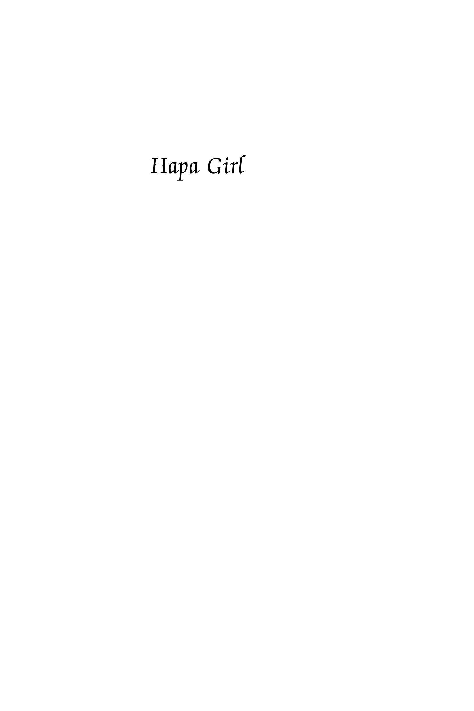 Hapa Girl: A Memoir EB9781592136179