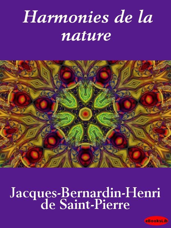 Harmonies de la nature EB9781412190619