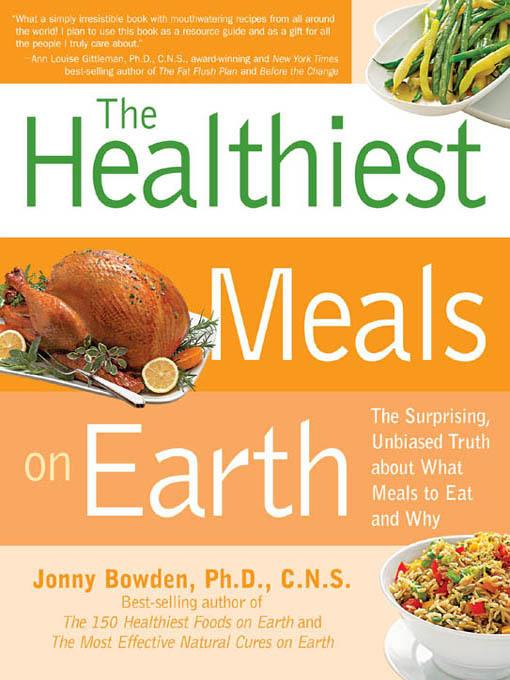Healthiest Meals on Earth EB9781616734343