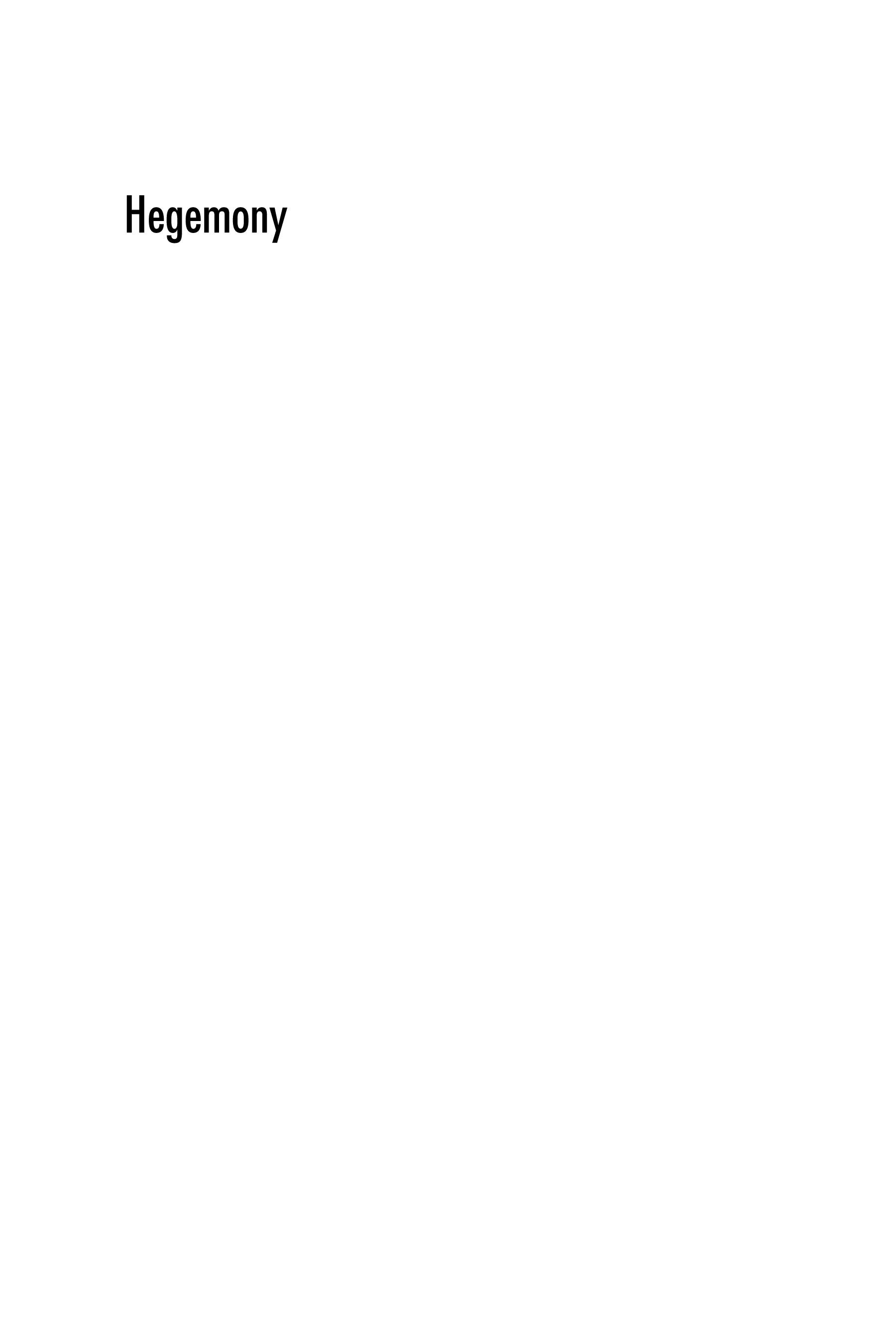 Hegemony: The New Shape of Global Power EB9781592137671