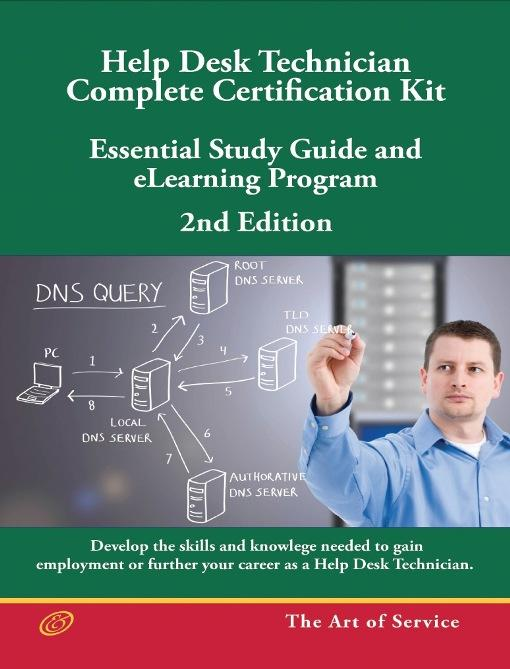 Help Desk Technician - Complete Certification Kit Book  - Second Edition - Essential Study Guide and eLearning Program, Second Edition EB9781743332160