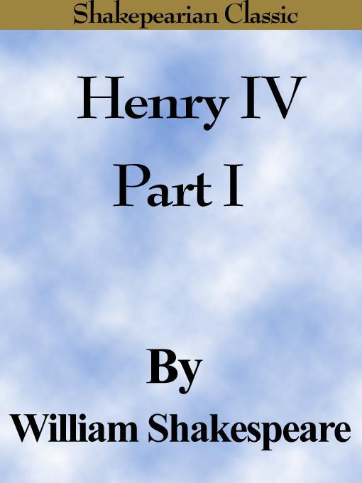 Henry IV Part I (Shakespearian Classics) EB9781599860138