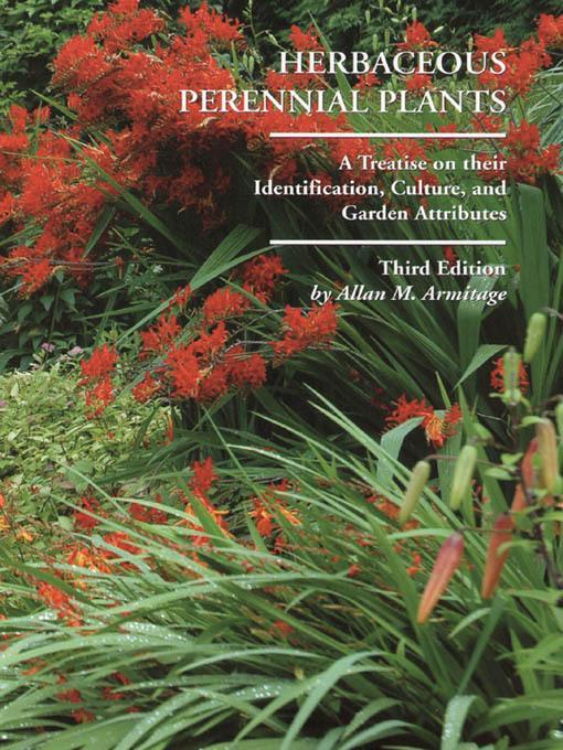 Herbaceous Perennial Plants EB9781610583800