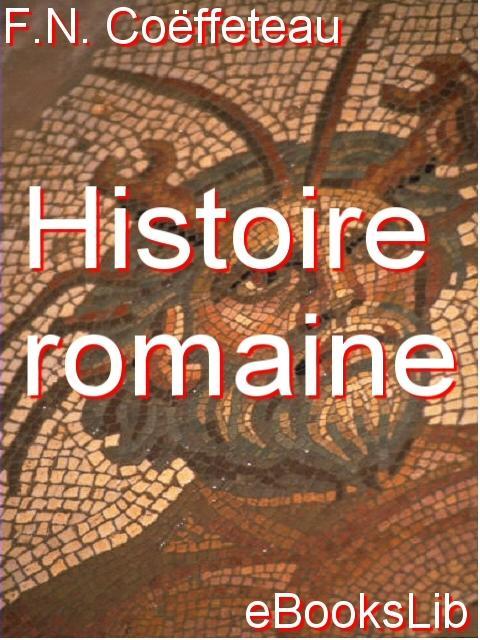 Histoire romaine EB9781554493999