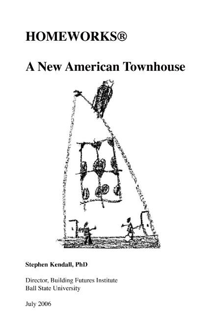 Homeworks:A New American Townhouse EB9781425196769