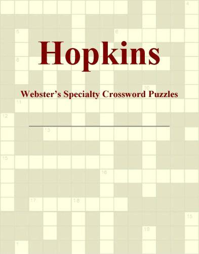 Hopkins - Webster's Specialty Crossword Puzzles