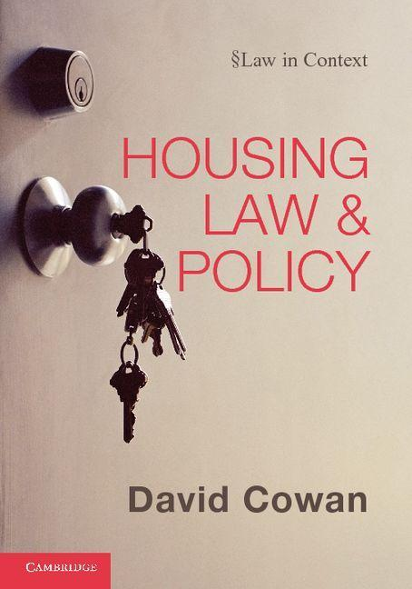 Housing Law and Policy EB9781139153485