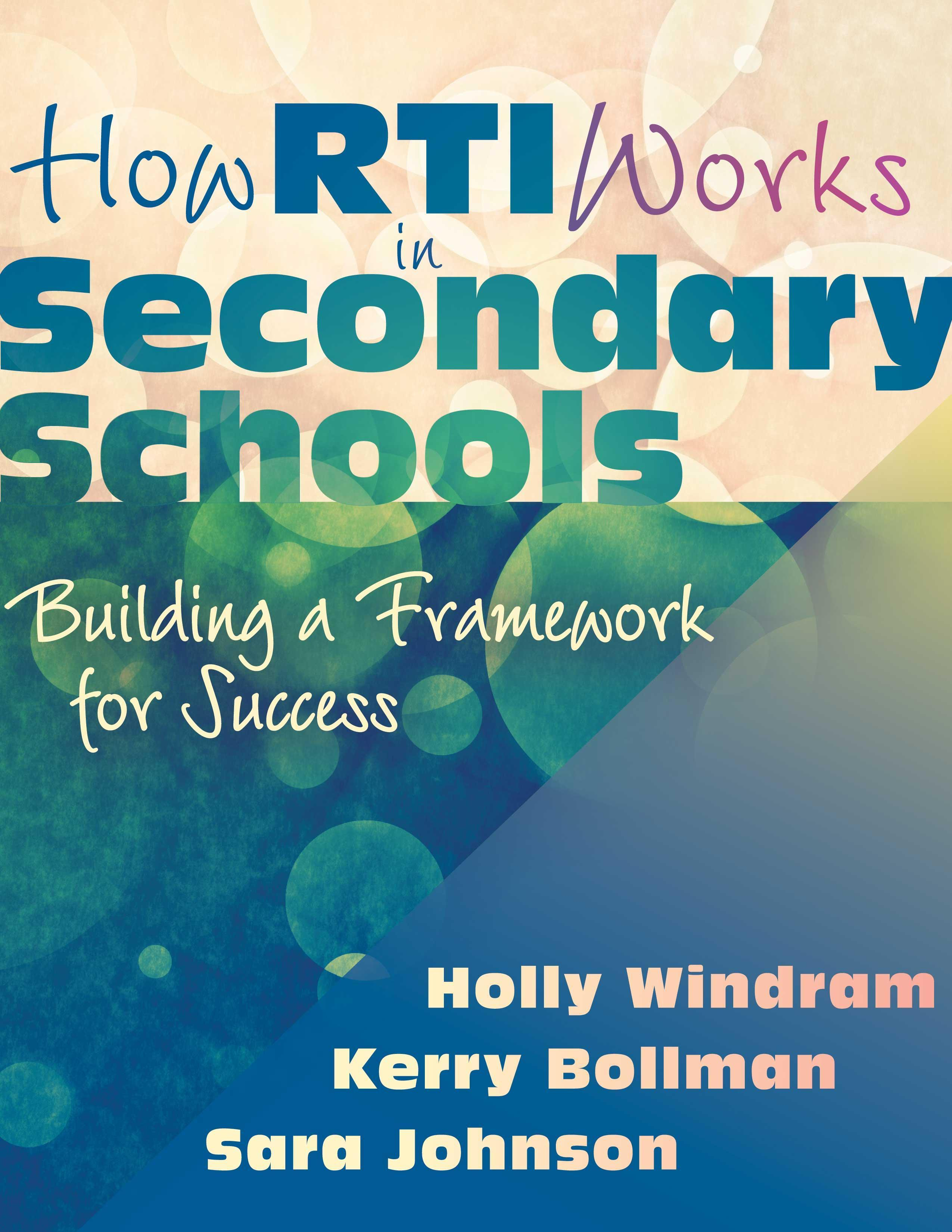 How RTI Works in Secondary Schools EB9781935542896