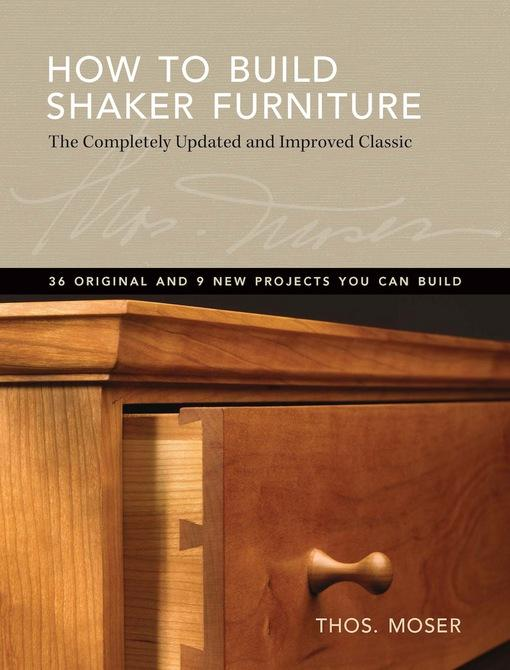 How To Build Shaker Furniture EB9781440313066