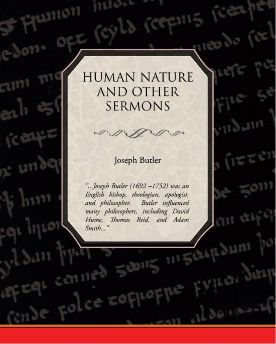 Human Nature and Other Sermons EB9781438593395