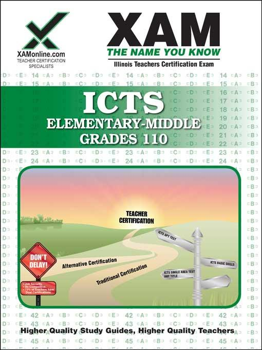 ICTS Elementary-Middle Grades 110 EB9781607878100
