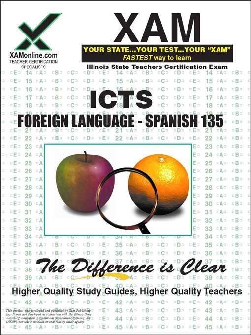 ICTS Foreign Language- Spanish 135 EB9781607878186