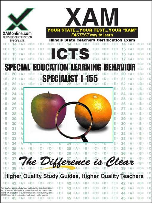 ICTS Special Education Learning Behavior Specialist I 155 EB9781607878032