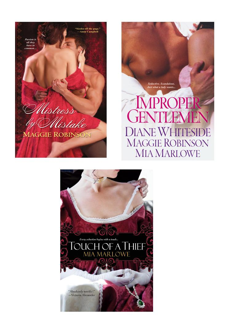 Improper Gentlemen Bundle with Touch of a Thief & Mistress By Mistake EB9781420126952