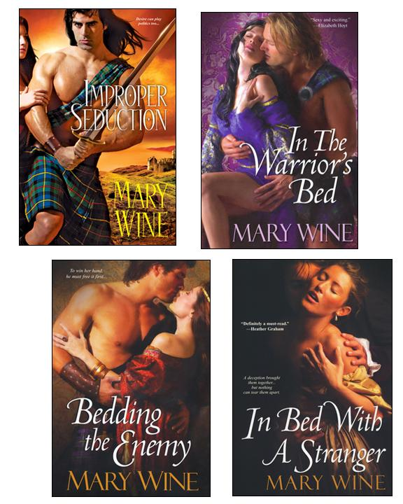 Improper Seduction Bundle with In the Warrior's Bed, Bedding the Enemy, & In Bed with A Stranger EB9781420123296