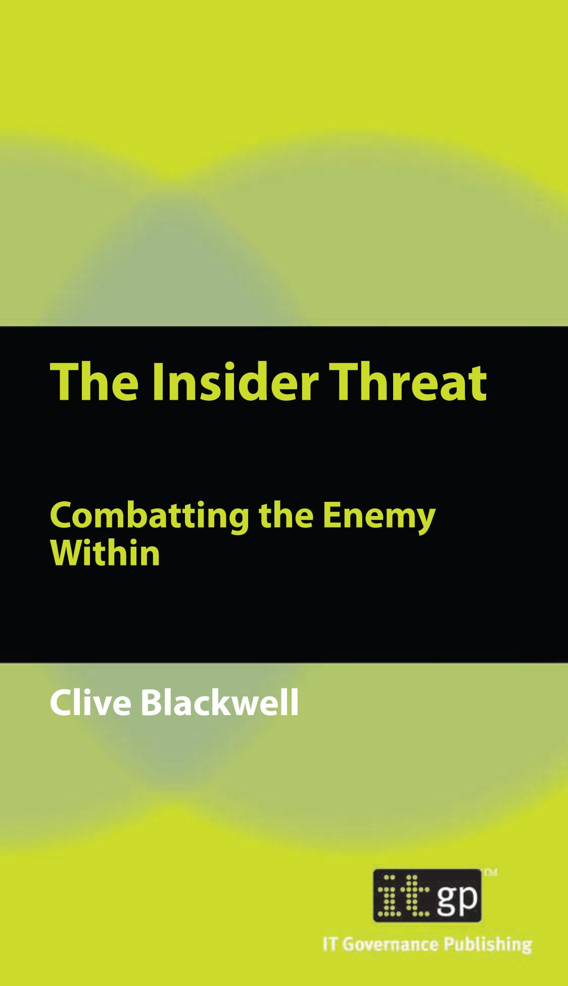Insider Threat, The EB9781849280112