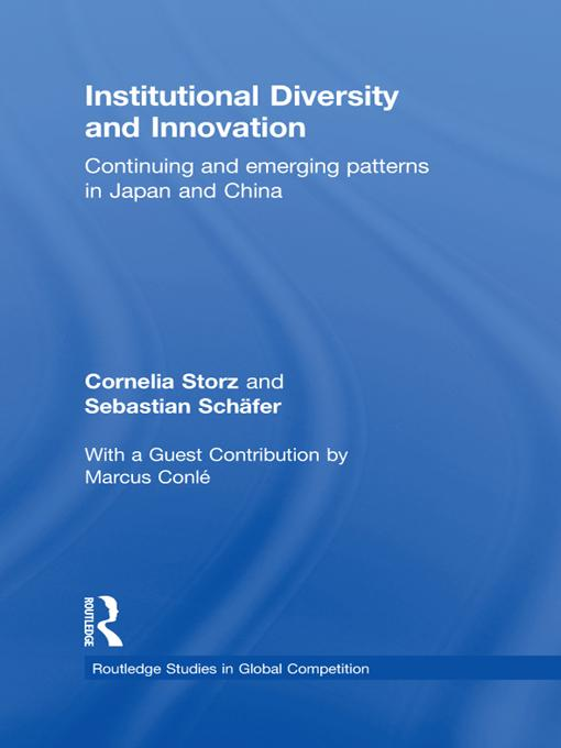 Institutional Diversity and Innovation EB9781136715471
