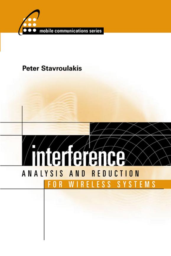 Interference Analysis and Reduction for Wireless Systems EB9781580535748