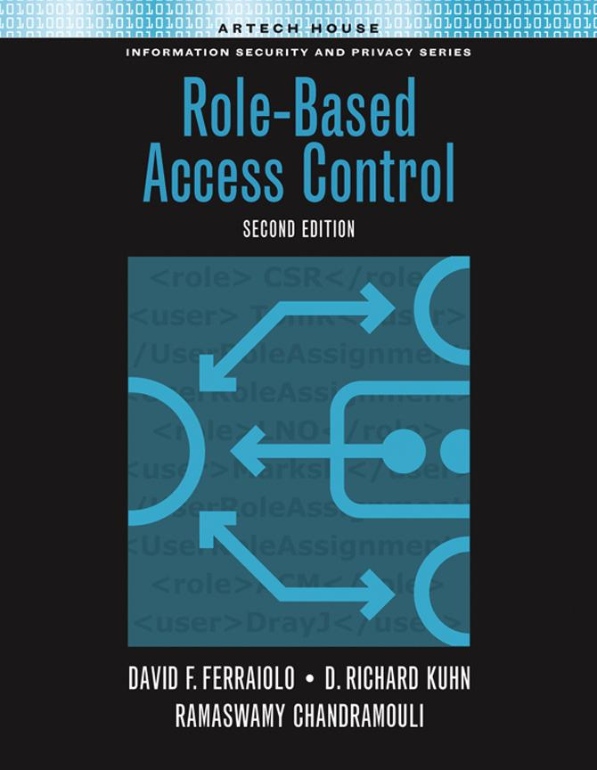 Introduction: Chapter 1 from Role-Based Access Control EB9781596939004