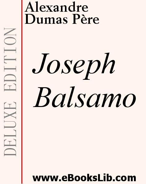 Joseph Balsamo EB9781897124147