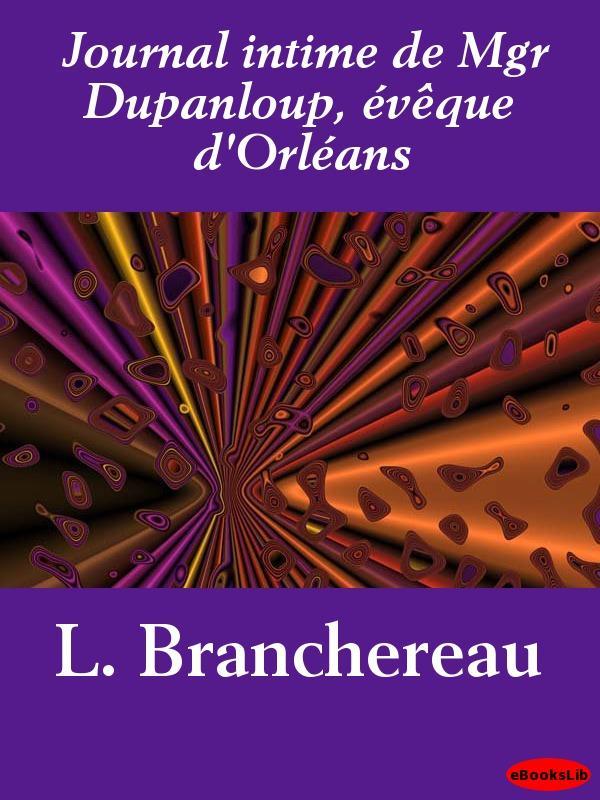 Journal intime de Mgr Dupanloup, ?v?que d'Orl?ans EB9781412191937