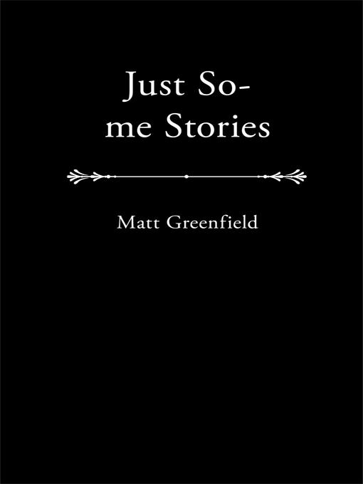 Just So-Me Stories EB9781450247108