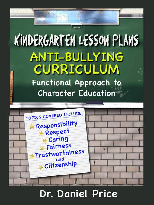 Kindergarten Lesson Plans EB9781619840874