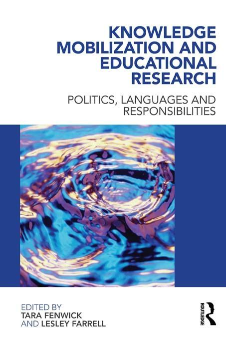 Knowledge Mobilization and Educational Research EB9781136729331