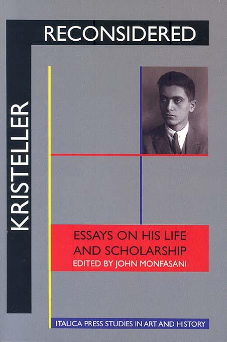 Kristeller and Manuscripts EB9781599100364