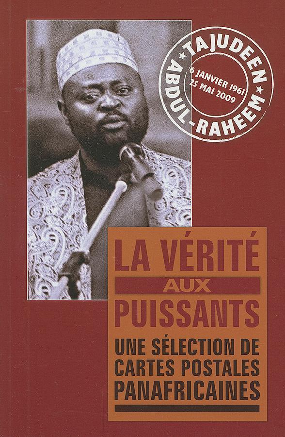 La Verite Aux Puissants: Une Selection de Cartes Postales Panafricaines EB9781906387402