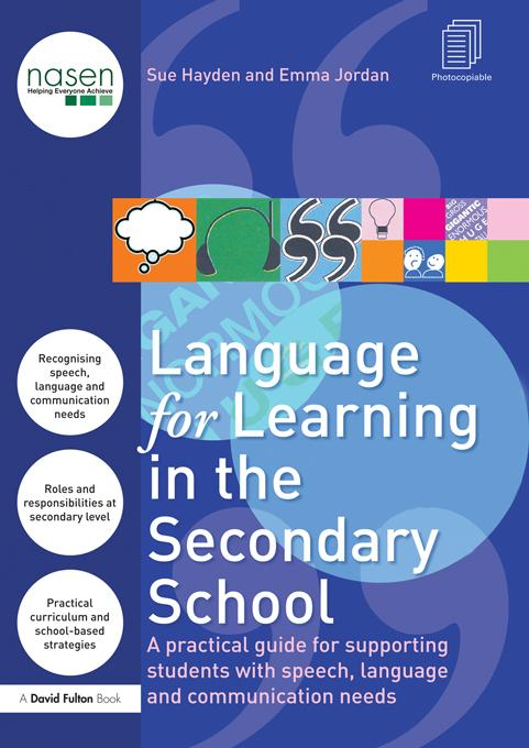 Language for Learning in the Secondary School EB9781136736193