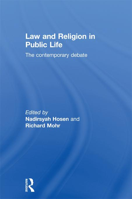 Law and Religion in Public Life EB9781136725845