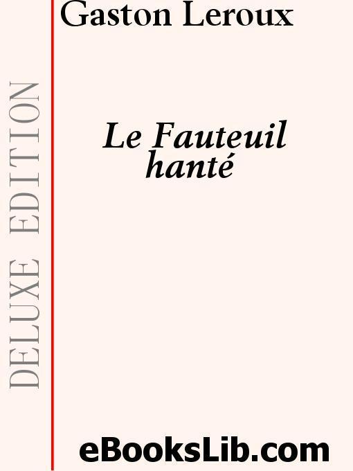 Le Fauteuil hant EB9781412187091