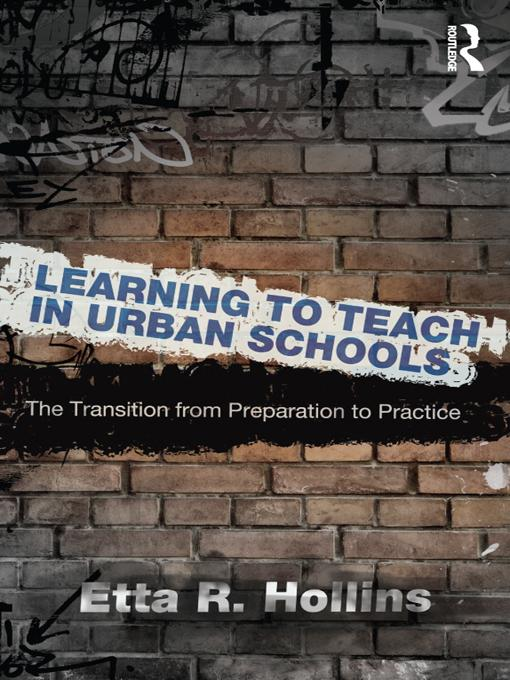Learning to Teach in Urban Schools EB9781136715549