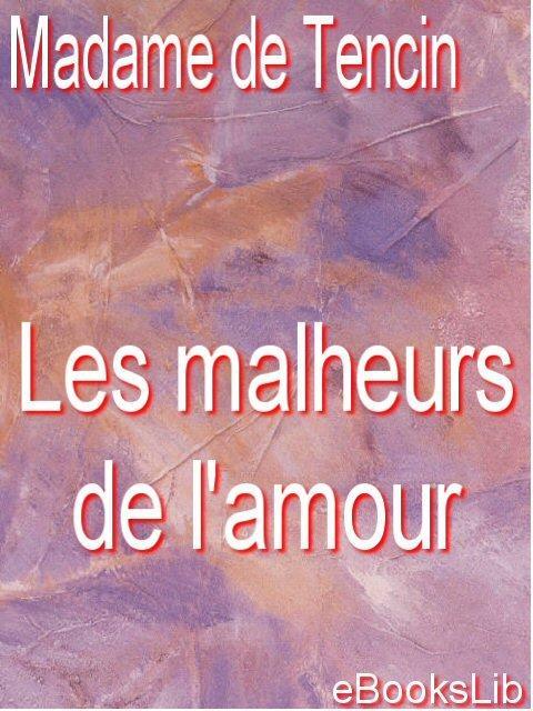 Les malheurs de l'amour EB9781412175074