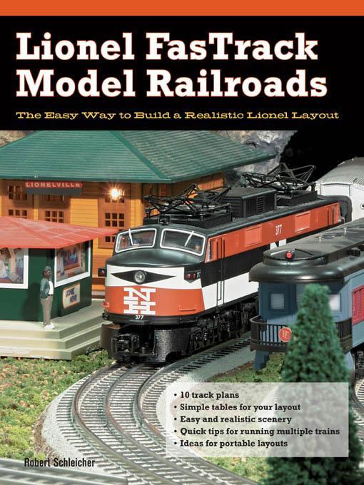 Lionel FasTrack Model Railroads EB9781616732196