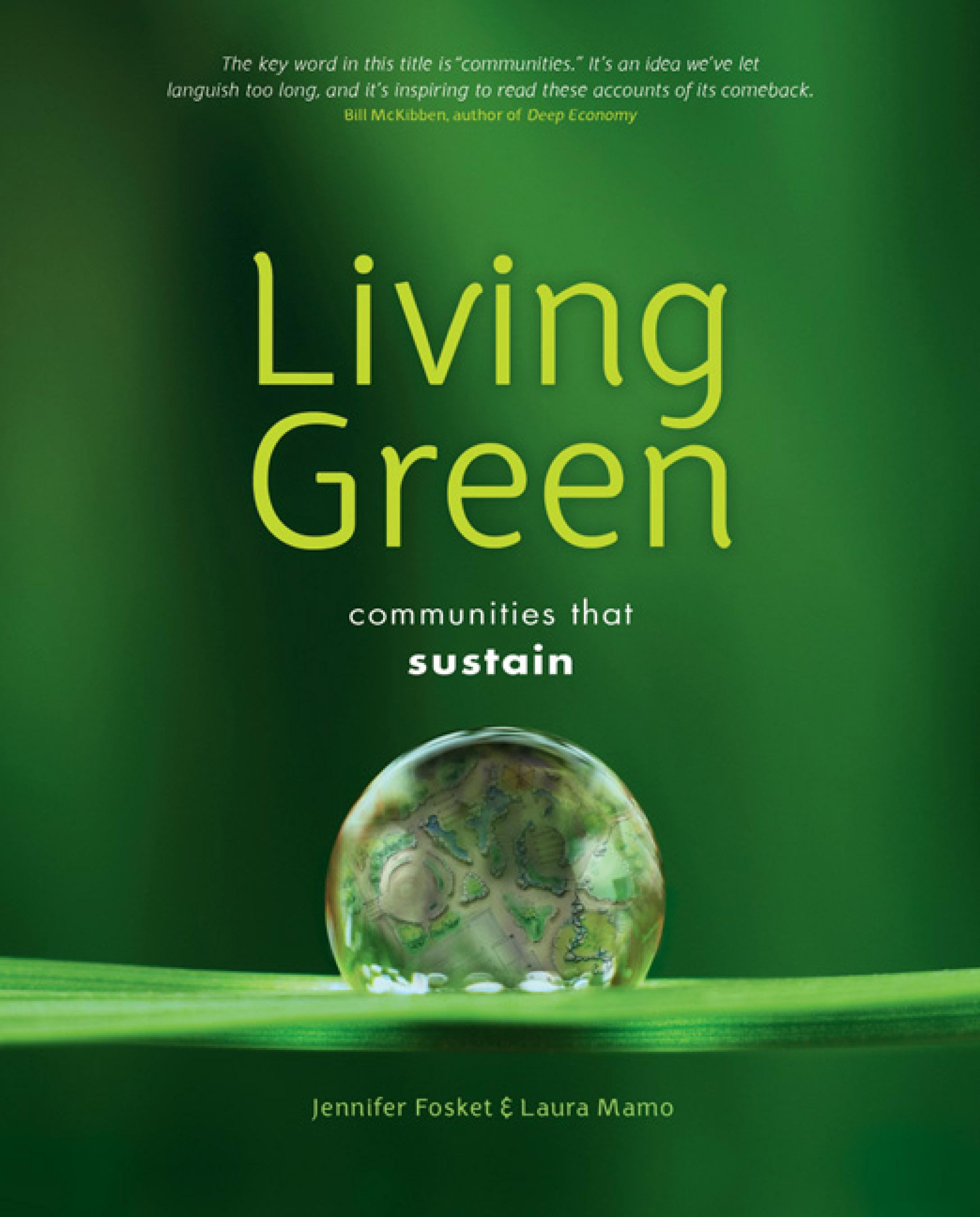 Living Green: Communities that Sustain EB9781550924305