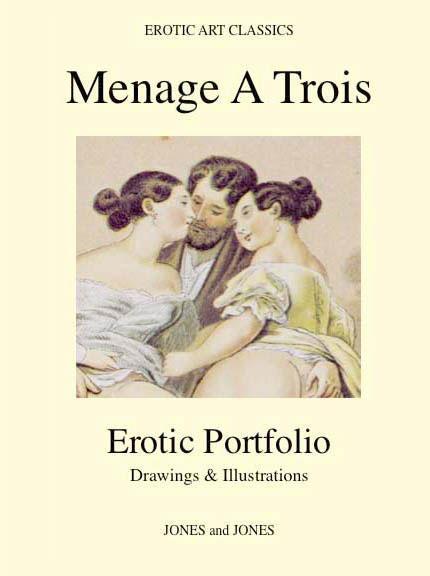 MENAGE A TROIS - Erotic Portfolio - Drawings & Illustrations EB9781452813356