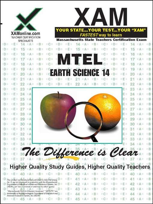 MTEL Earth Science 14 EB9781607878346