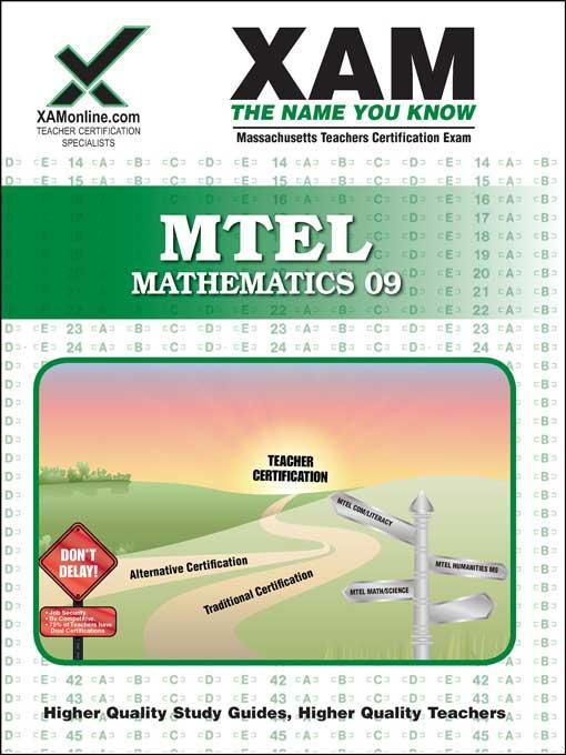 MTEL Mathematics 09 EB9781607878292