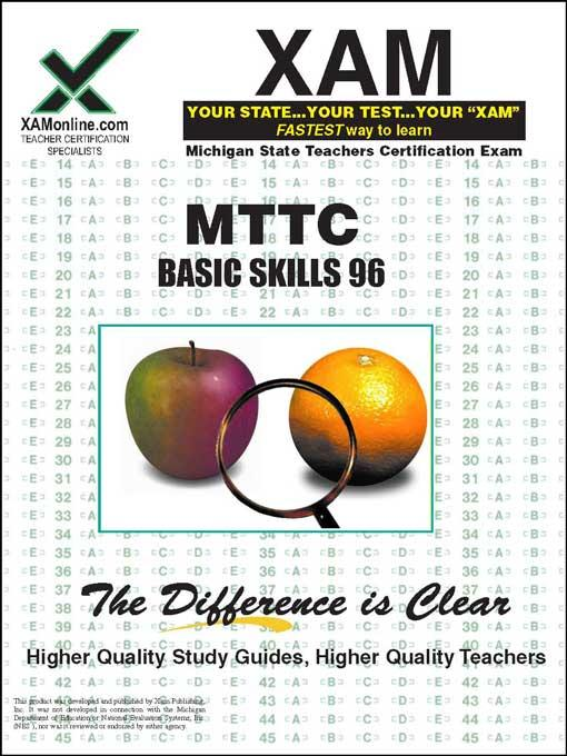 MTTC Basic Skills 96 EB9781607878452