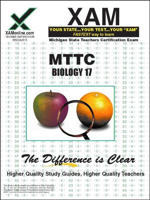 MTTC Biology 17 EB9781607878469